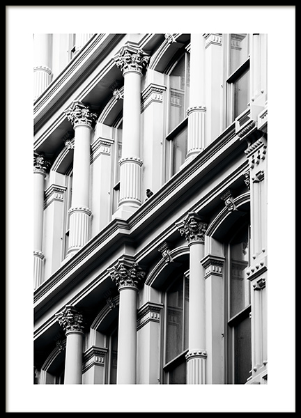 Soho Facade Juliste ryhmässä Studio Collections / Studio Cosmopolitan / New York @ Desenio AB (11316)