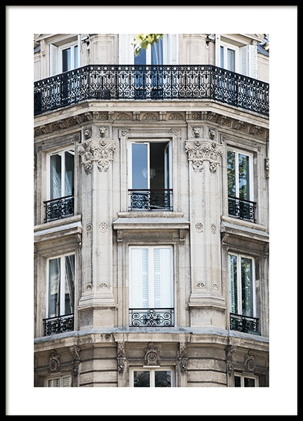 Paris Facade Juliste ryhmässä Studio Collections / Studio Cosmopolitan @ Desenio AB (11352)