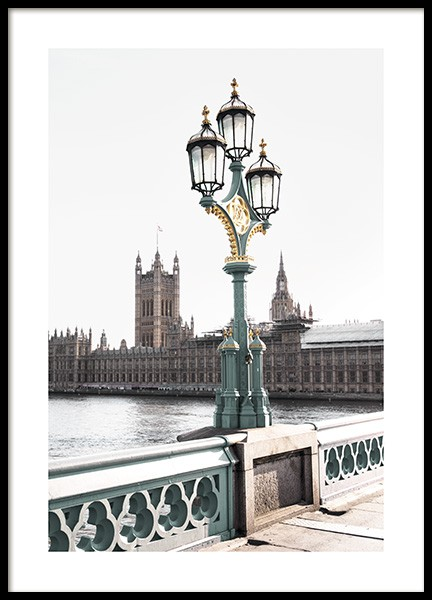 Westminster Bridge Juliste ryhmässä Studio Collections / Studio Cosmopolitan @ Desenio AB (11354)