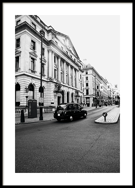 London Taxi Juliste ryhmässä Studio Collections / Studio Cosmopolitan @ Desenio AB (11363)