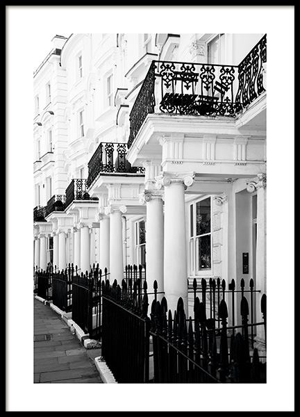 Notting Hill Street Juliste ryhmässä Studio Collections / Studio Cosmopolitan @ Desenio AB (11371)