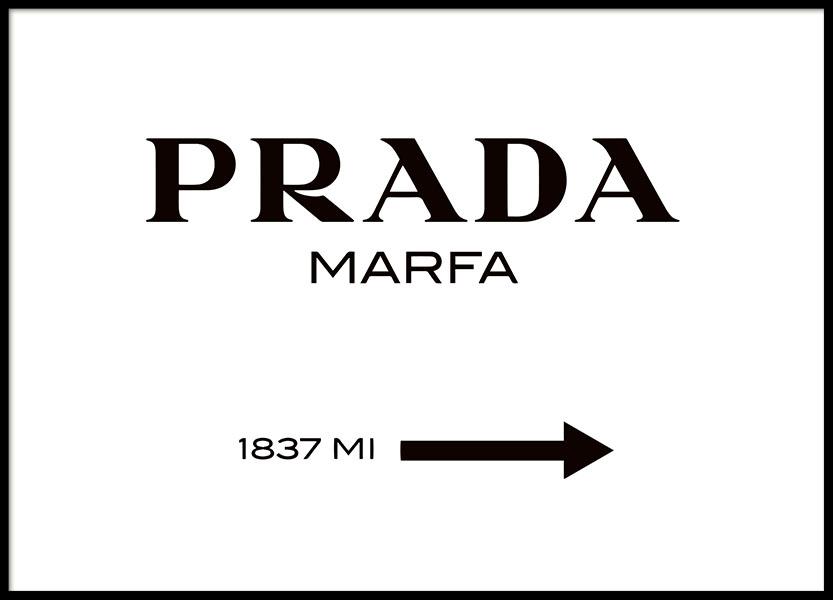 juliste prada marfa kyltti mustavalkoisena gossip girl fashion taulu ja juliste. Black Bedroom Furniture Sets. Home Design Ideas