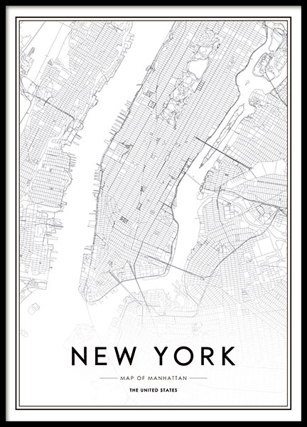 Juliste Valokuvalla New Yorkista Desenio Fi