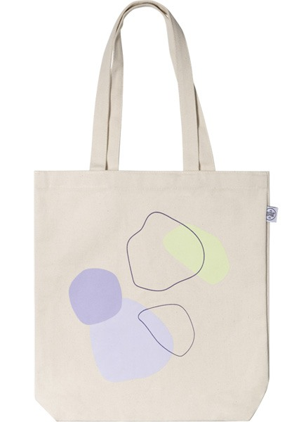 Color Shapes Tote Bag ryhmässä Limited edition @ Desenio AB (TOTE50142)