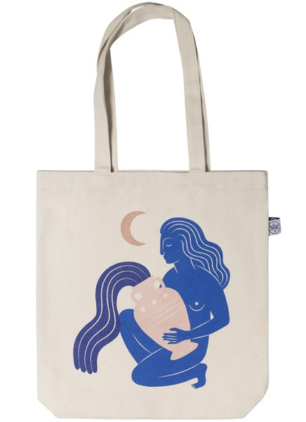 Under the Moon Tote Bag ryhmässä Limited edition @ Desenio AB (TOTE50143)